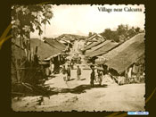 Village near Calcutta