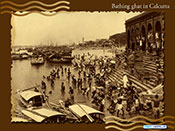 Bathing Ghat of Old Kolkata